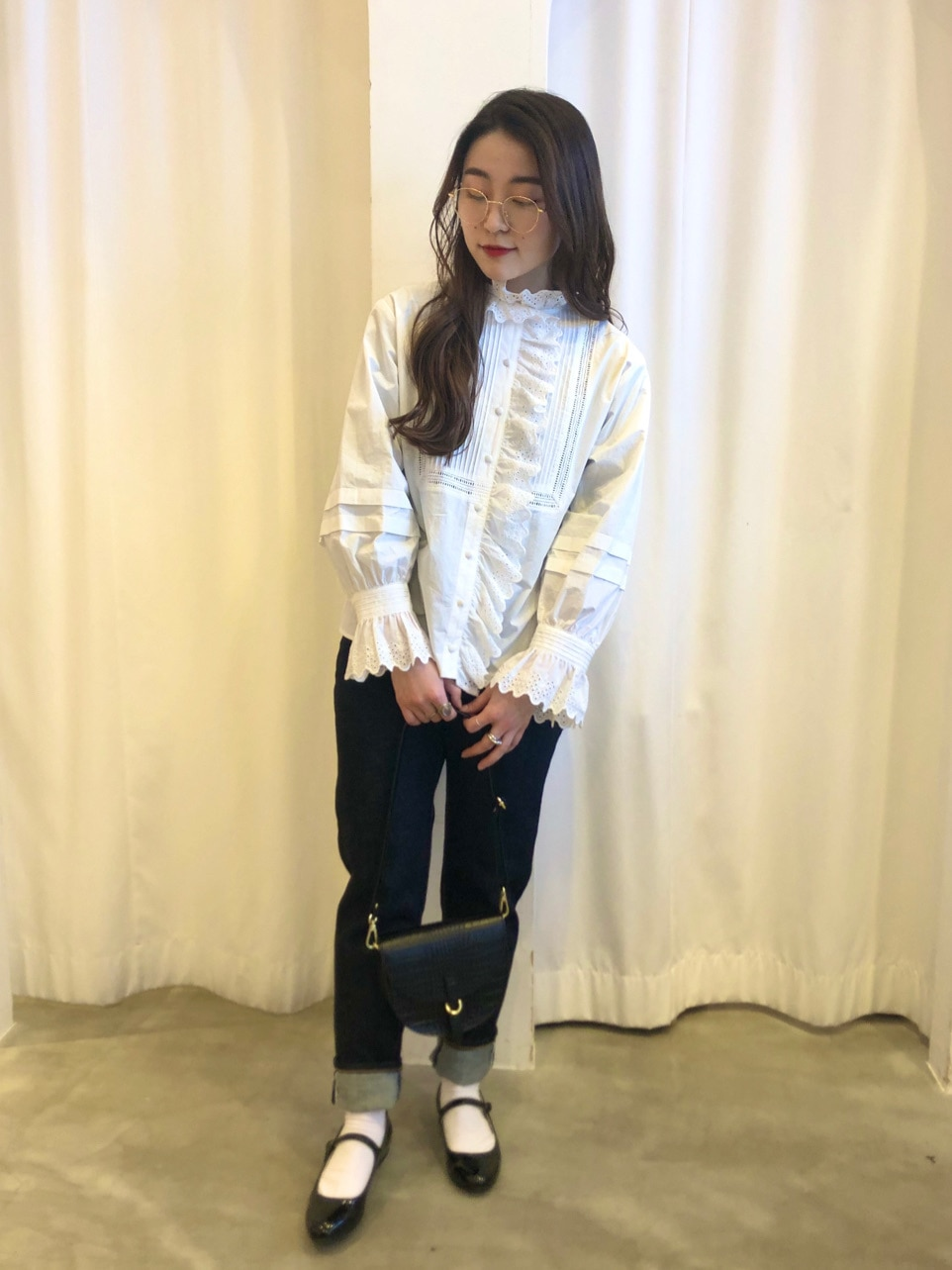 Dot and Stripes CHILD WOMAN ラフォーレ原宿 身長:153cm 2021.01.05