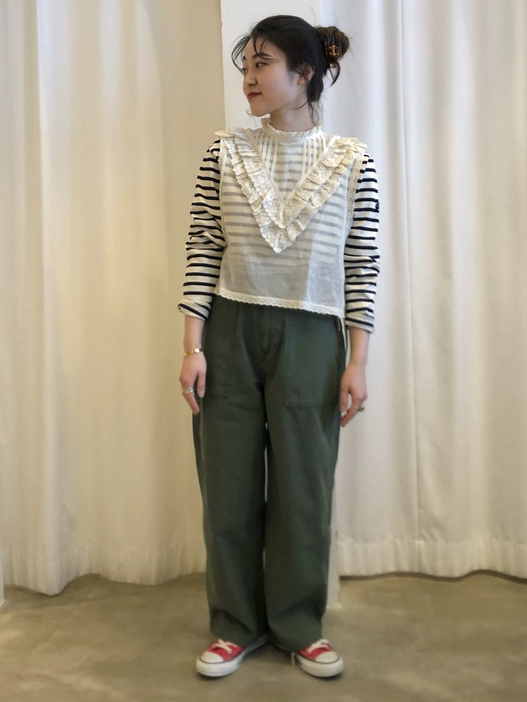 Dot and Stripes CHILD WOMAN ラフォーレ原宿 身長:153cm 2021.03.17