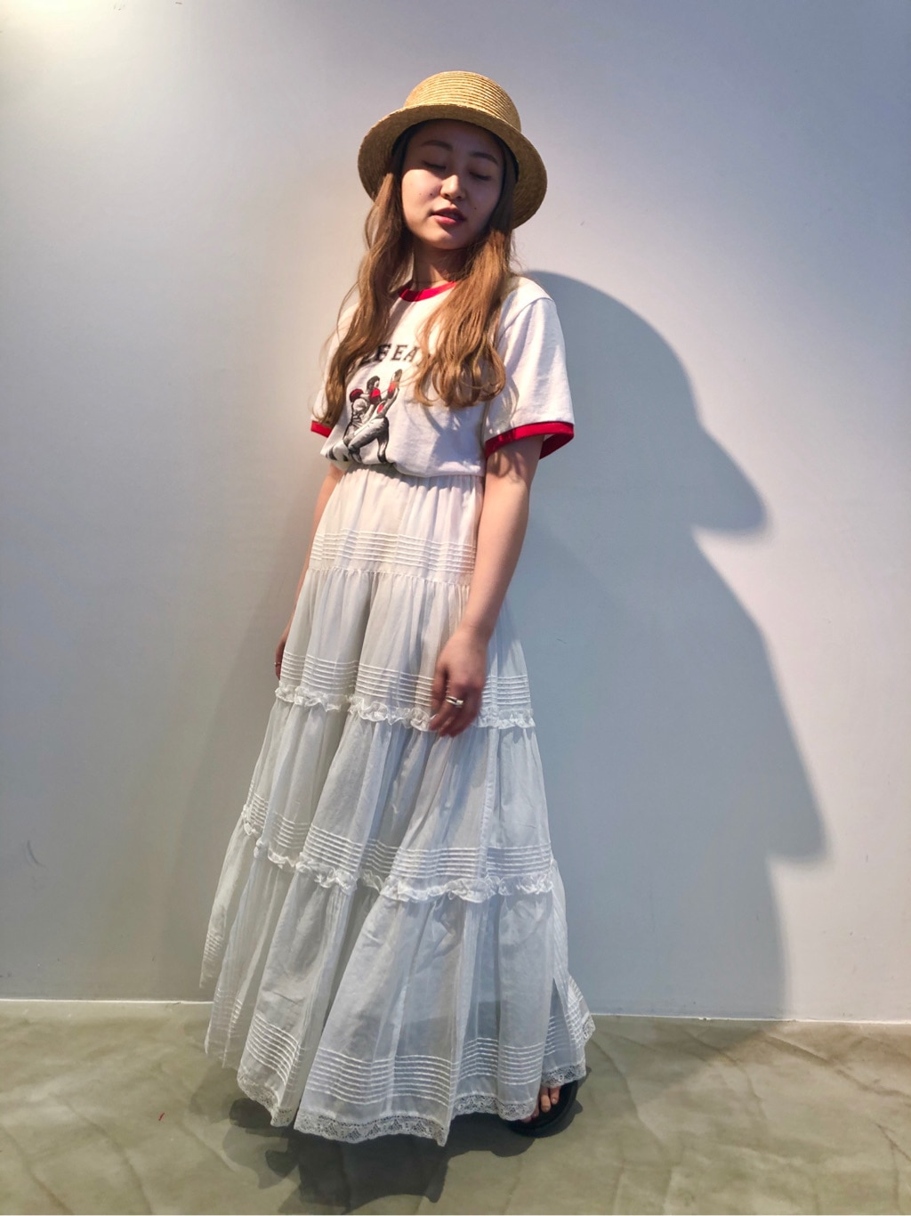 Dot and Stripes CHILD WOMAN ラフォーレ原宿 身長:153cm 2020.06.18