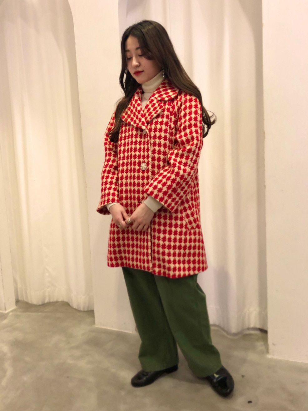 Dot and Stripes CHILD WOMAN ラフォーレ原宿 身長:153cm 2020.11.09