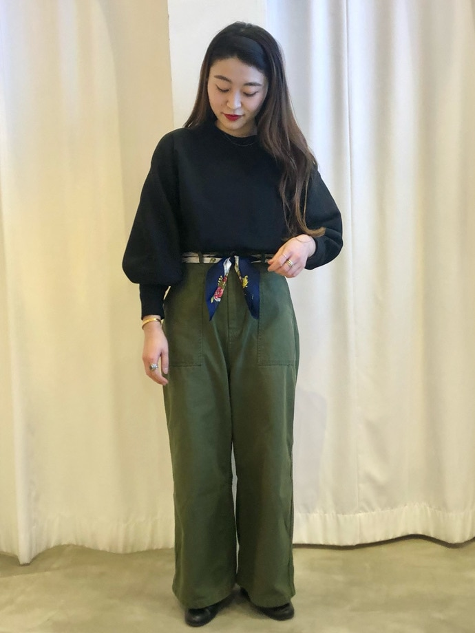 Dot and Stripes CHILD WOMAN ラフォーレ原宿 身長:153cm 2021.01.26