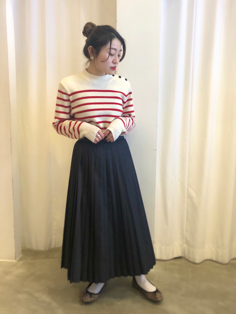 Dot and Stripes CHILD WOMAN ラフォーレ原宿 身長:153cm 2020.12.12
