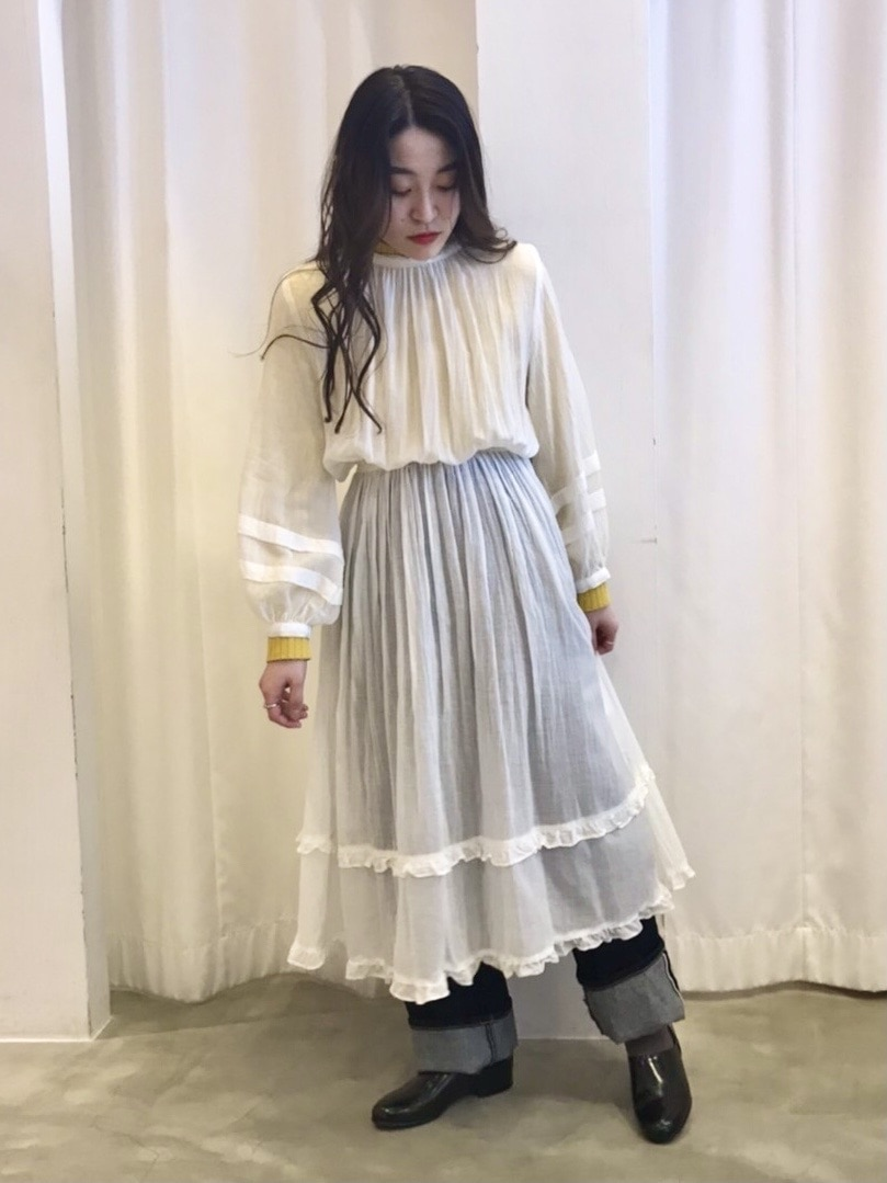 Dot and Stripes CHILD WOMAN ラフォーレ原宿 身長:153cm 2021.02.23