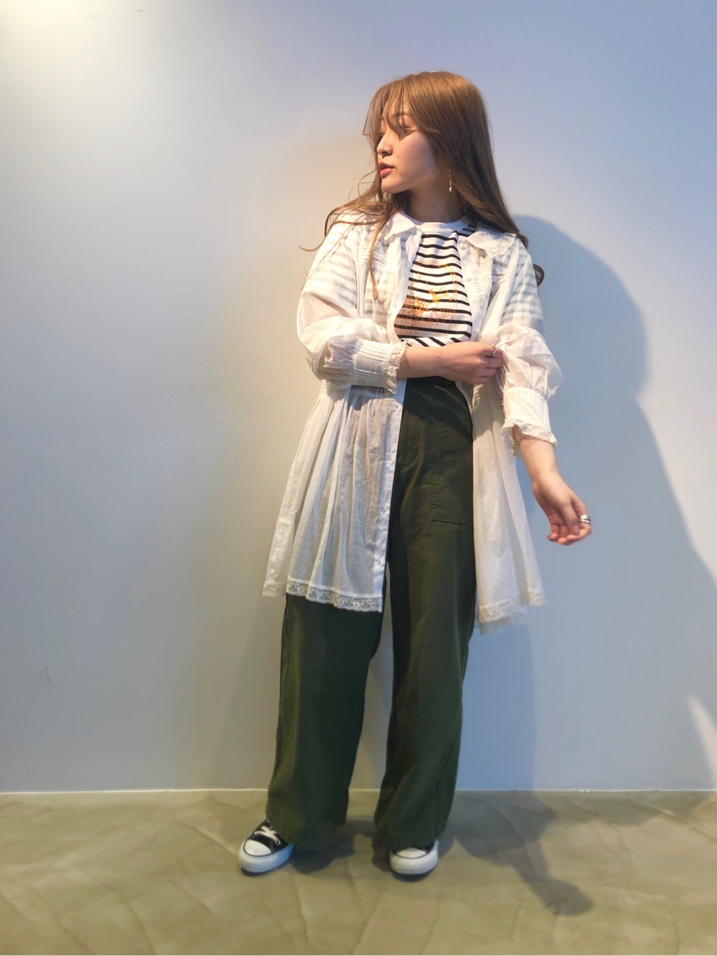 Dot and Stripes CHILD WOMAN ラフォーレ原宿 身長:153cm 2020.06.11