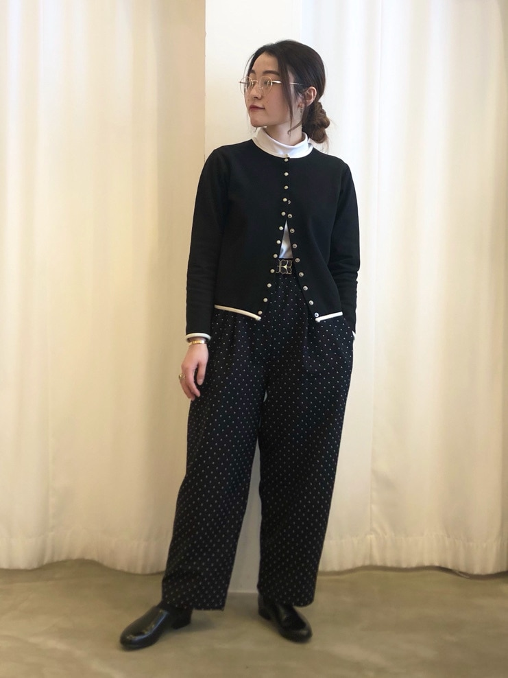Dot and Stripes CHILD WOMAN ラフォーレ原宿 身長:153cm 2021.02.07