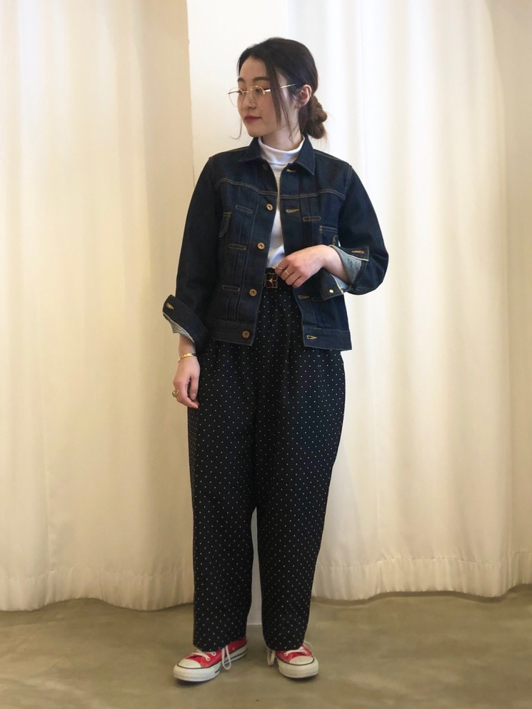 Dot and Stripes CHILD WOMAN ラフォーレ原宿 身長:153cm 2021.02.03