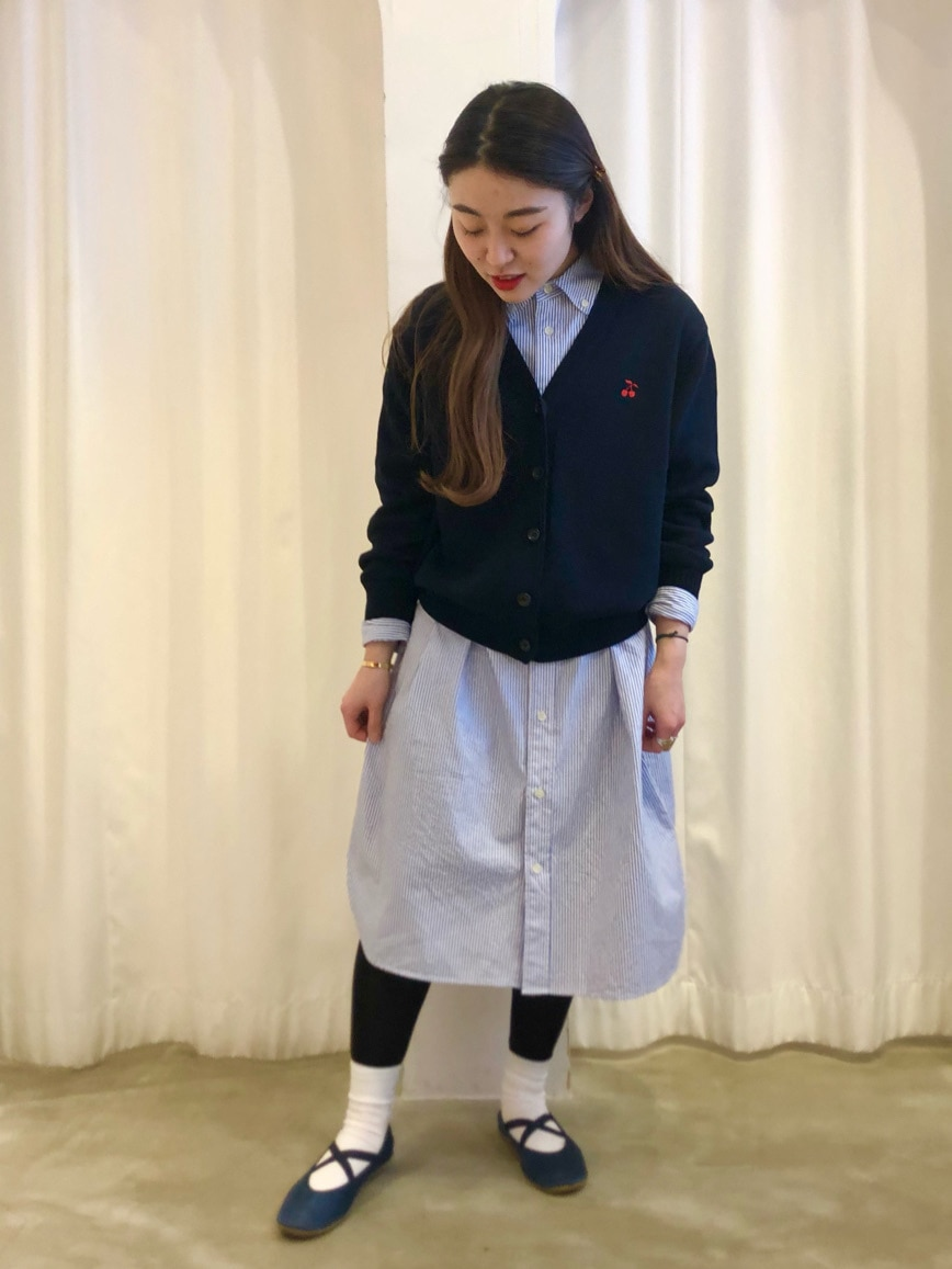 Dot and Stripes CHILD WOMAN ラフォーレ原宿 身長:153cm 2021.01.28