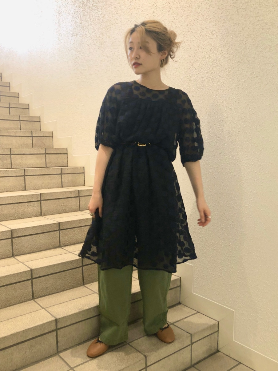 Dot and Stripes CHILD WOMAN ラフォーレ原宿 身長:153cm 2020.07.30