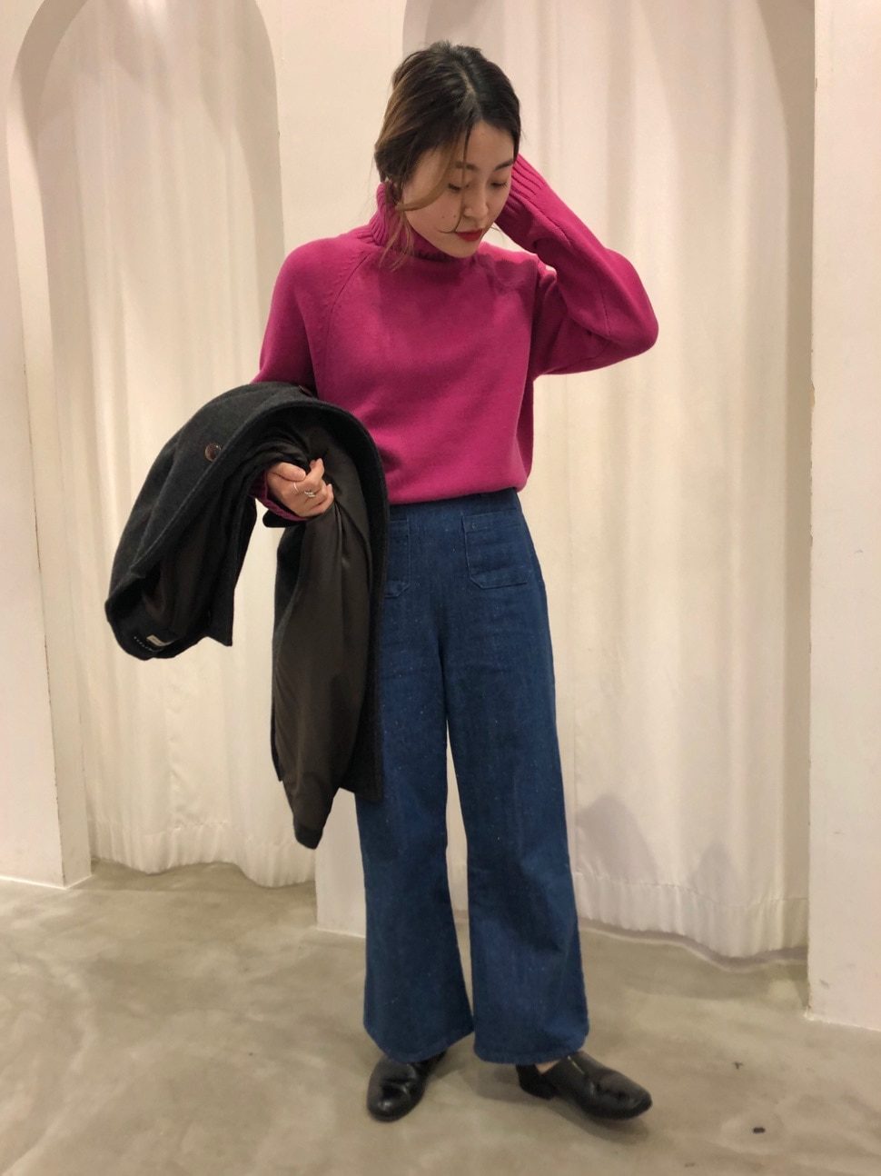 Dot and Stripes CHILD WOMAN ラフォーレ原宿 身長:153cm 2020.11.02