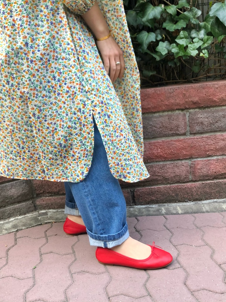 Dot and Stripes CHILD WOMAN ラフォーレ原宿 身長:153cm 2021.04.02
