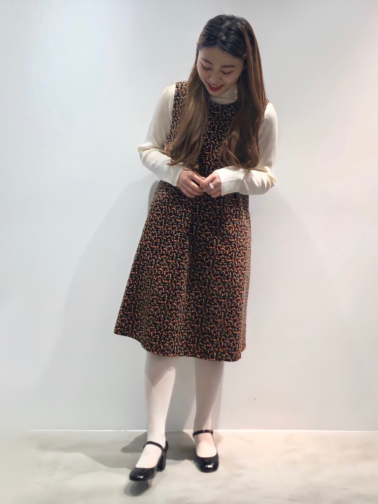 Dot and Stripes CHILD WOMAN ラフォーレ原宿 身長:153cm 2020.10.26