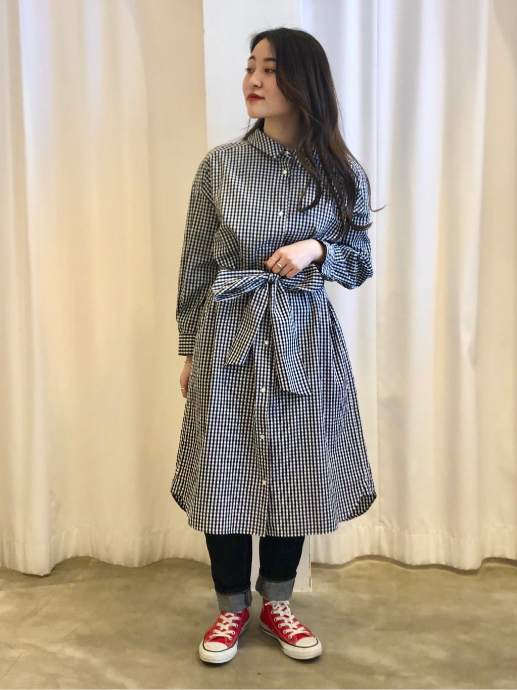 Dot and Stripes CHILD WOMAN ラフォーレ原宿 身長:153cm 2021.03.02