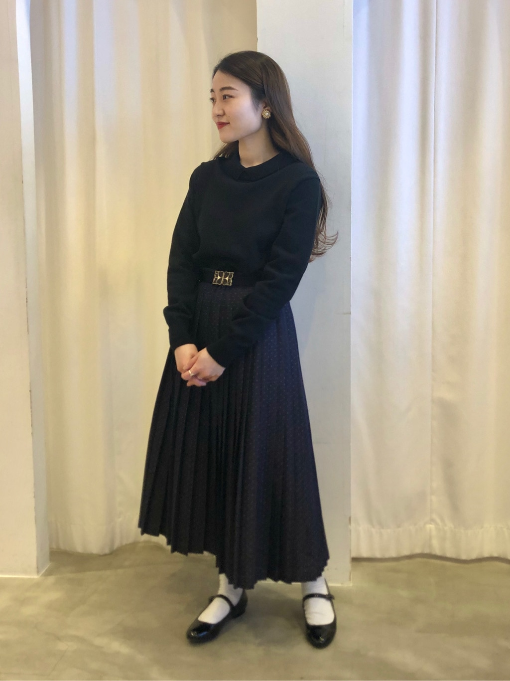 Dot and Stripes CHILD WOMAN ラフォーレ原宿 身長:153cm 2021.02.04