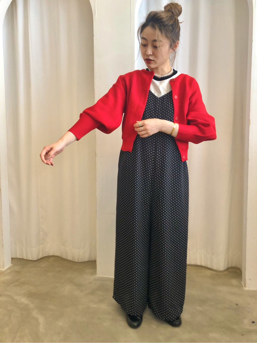Dot and Stripes CHILD WOMAN ラフォーレ原宿 身長:153cm 2020.09.02