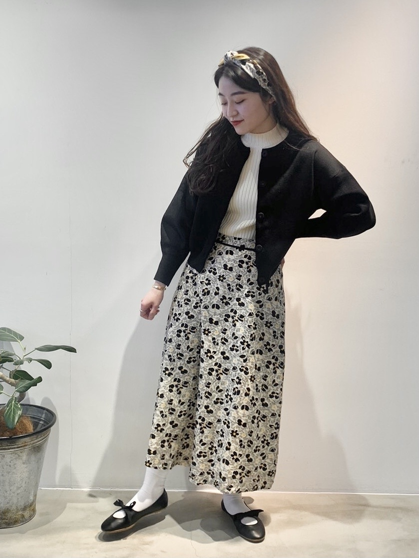 Dot and Stripes CHILD WOMAN ラフォーレ原宿 身長:153cm 2021.02.24