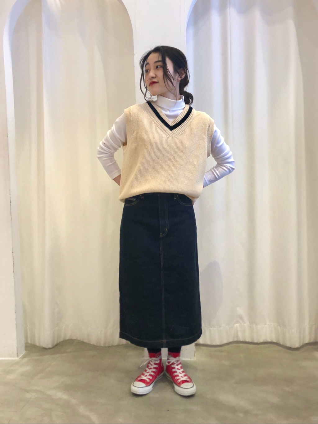 Dot and Stripes CHILD WOMAN ラフォーレ原宿 身長:153cm 2021.02.18