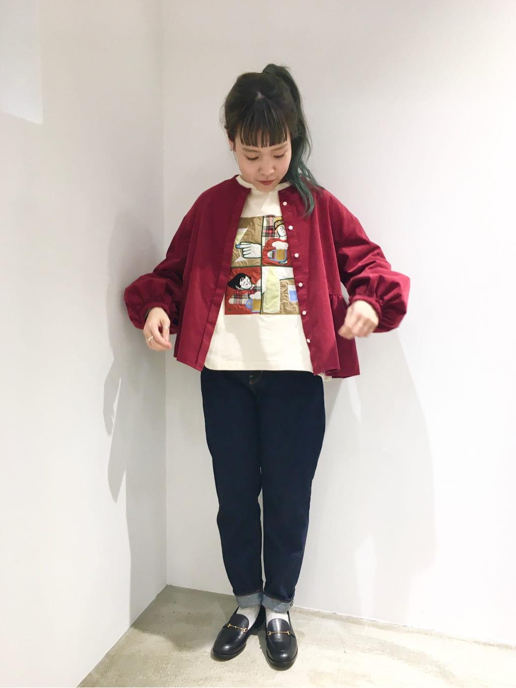 l'atelier du savon ルクア大阪 身長:155cm 2021.09.24