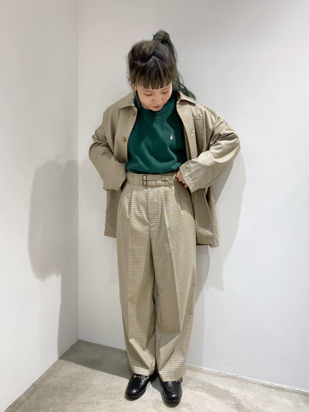 l'atelier du savon ルクア大阪 身長:155cm 2021.09.30