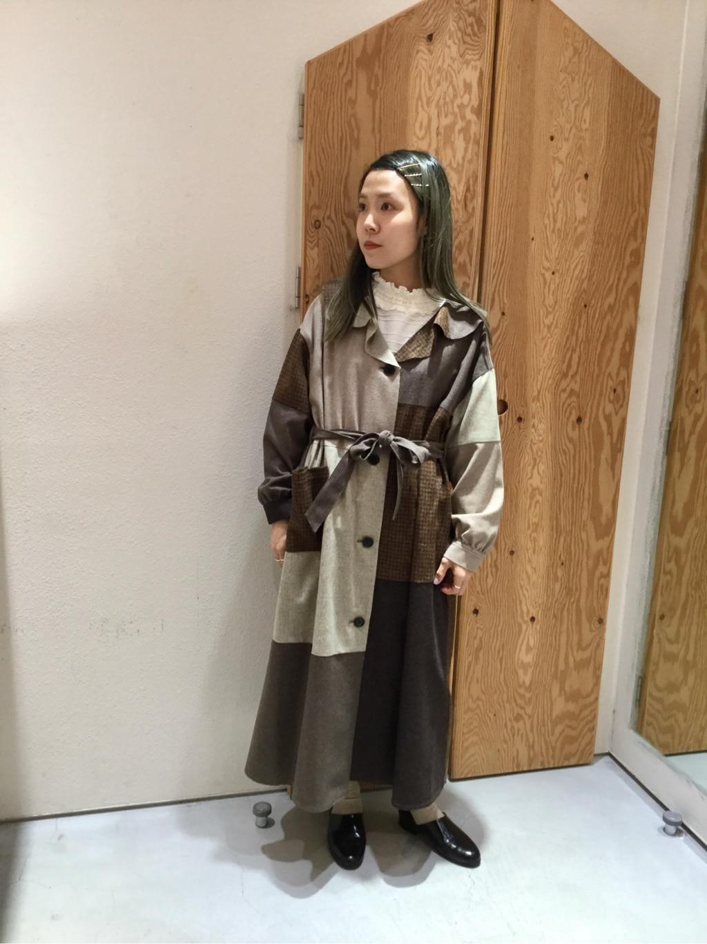 l'atelier du savon グランフロント大阪 身長:155cm 2019.10.29