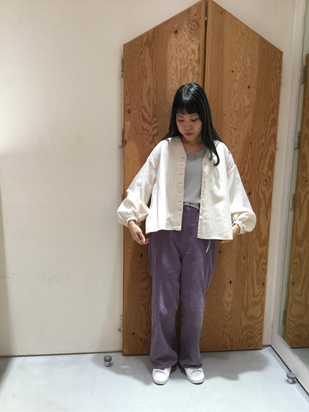 l'atelier du savon グランフロント大阪 身長:155cm 2019.10.07
