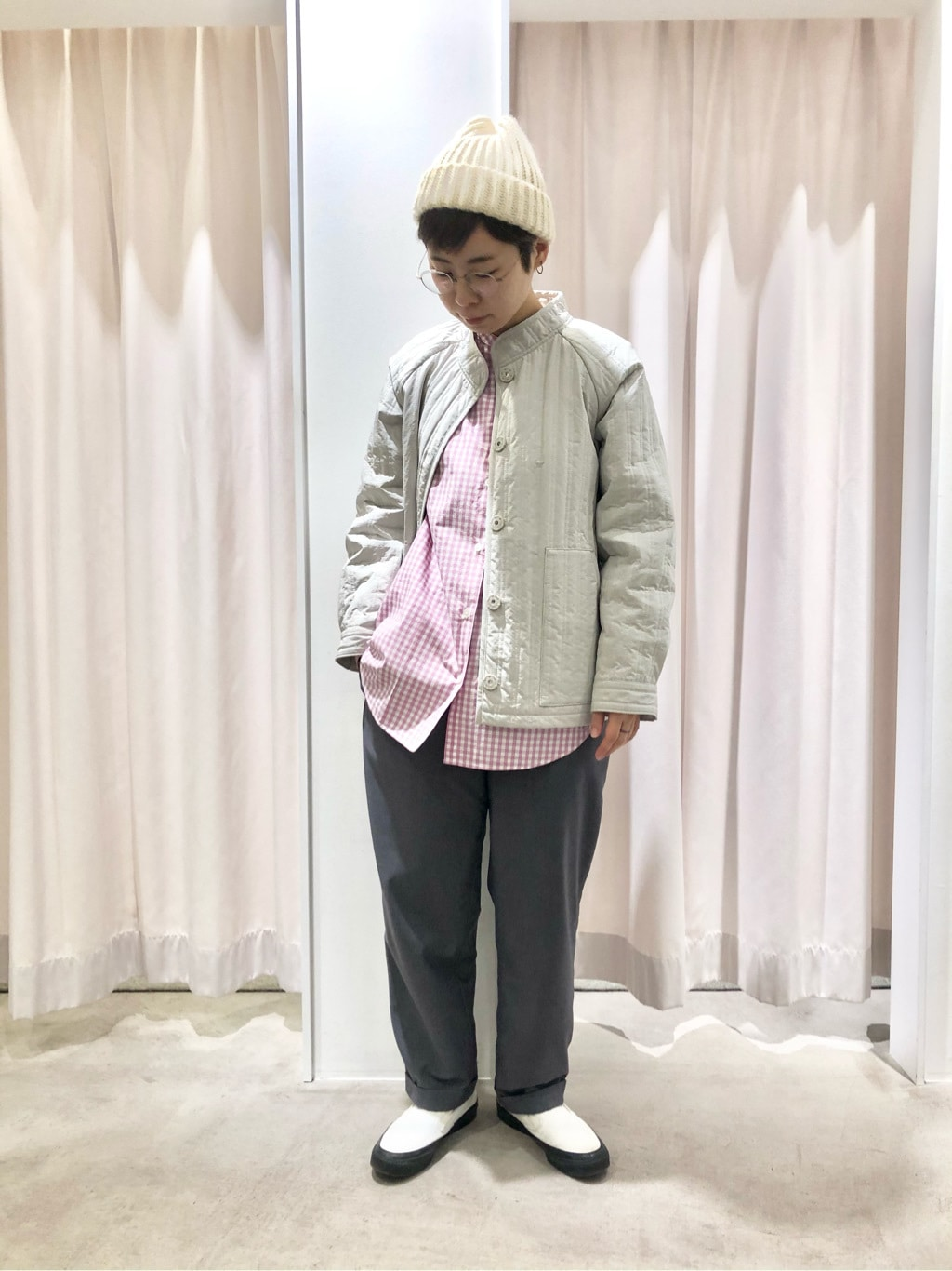 PAR ICI KLASSISK ルミネ新宿 身長:157cm 2020.12.04