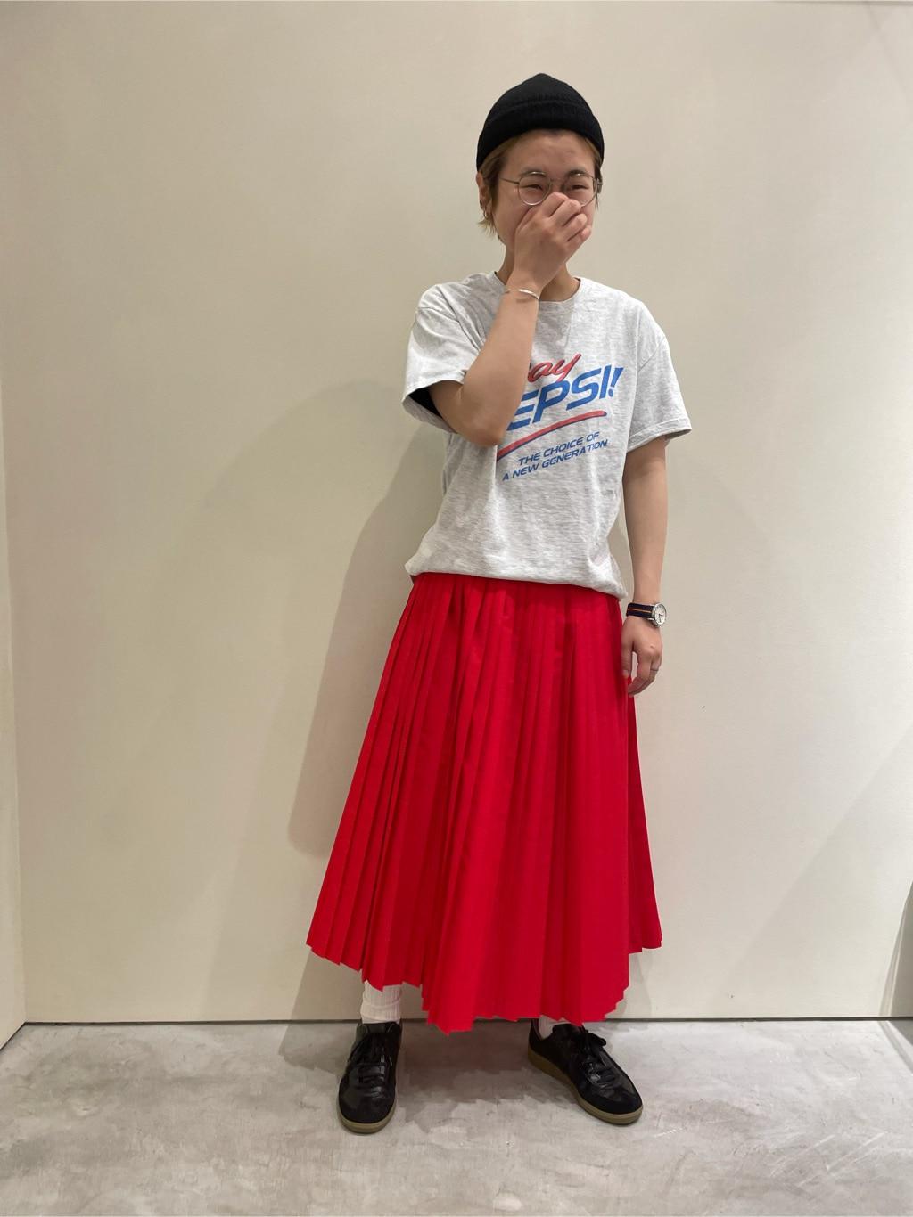 - CHILD WOMAN CHILD WOMAN , PAR ICI 新宿ミロード 身長:157cm 2021.06.09