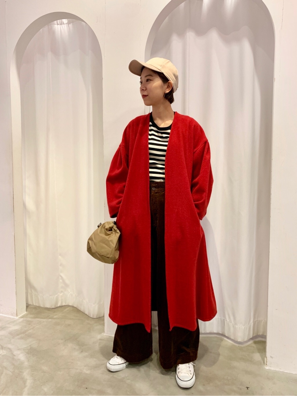 Dot and Stripes CHILD WOMAN 新宿ミロード 身長:161cm 2019.10.31