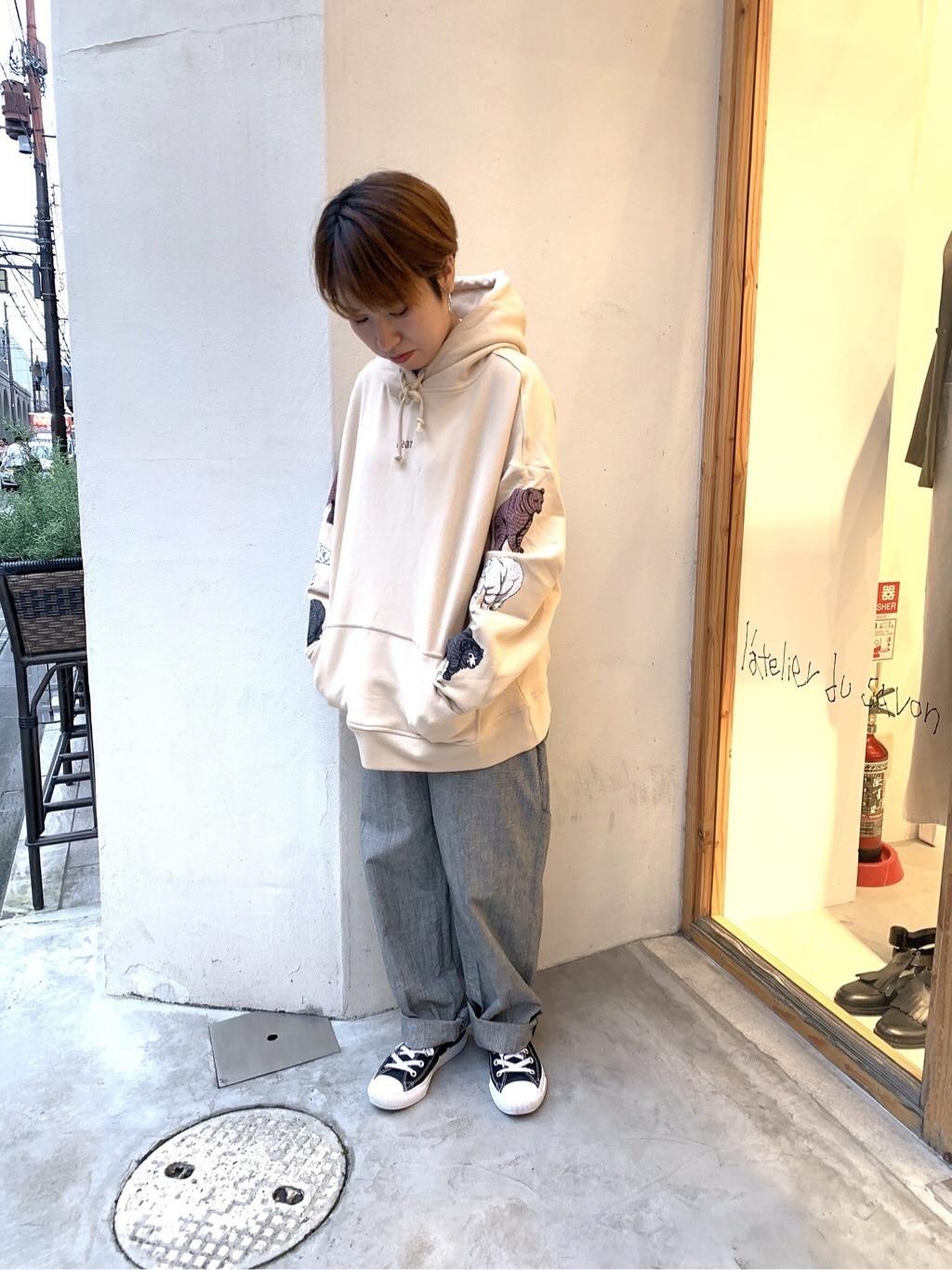 l'atelier du savon 京都路面 身長:148cm 2019.10.17