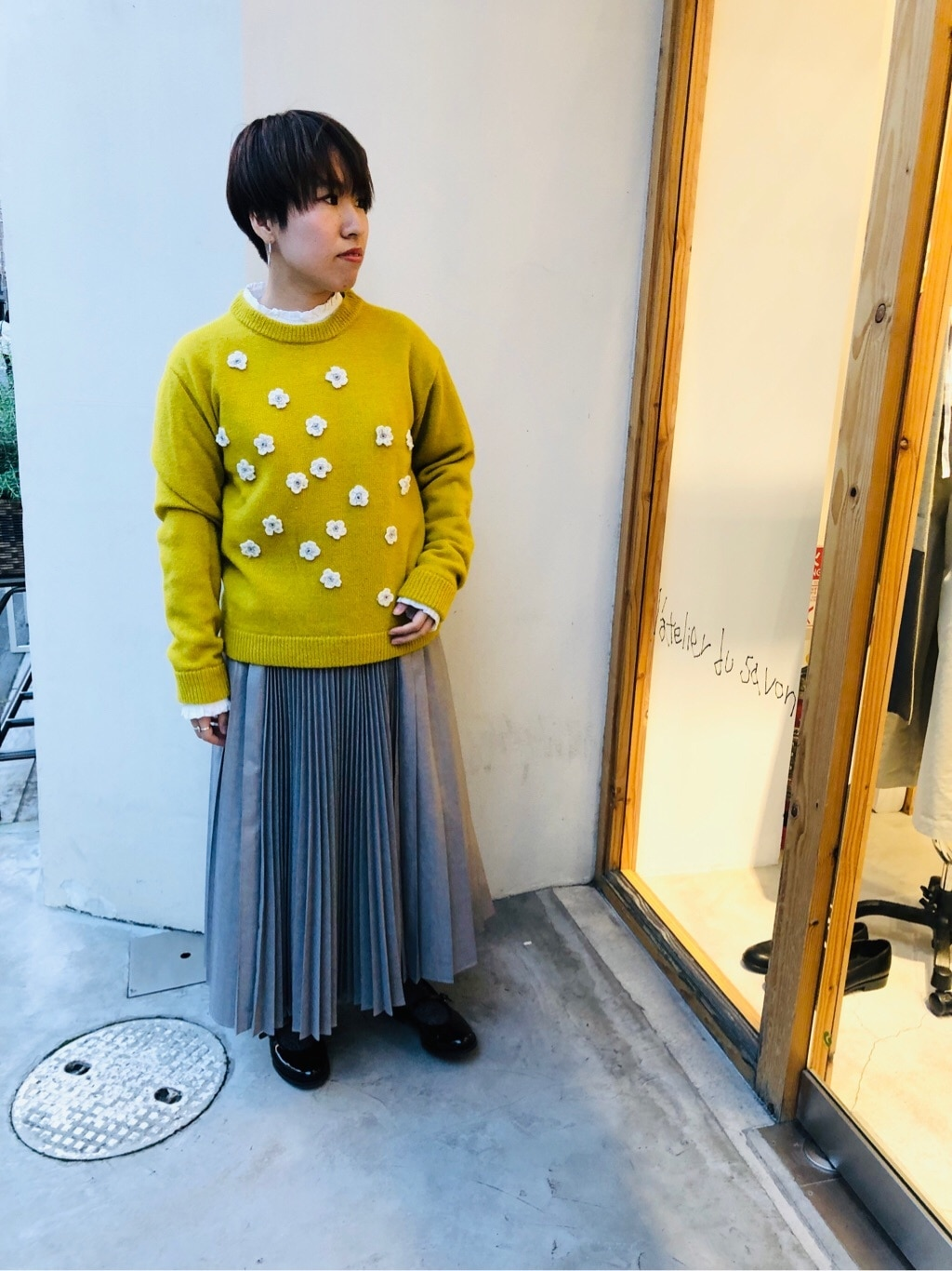 l'atelier du savon 京都路面 身長:148cm 2019.11.10