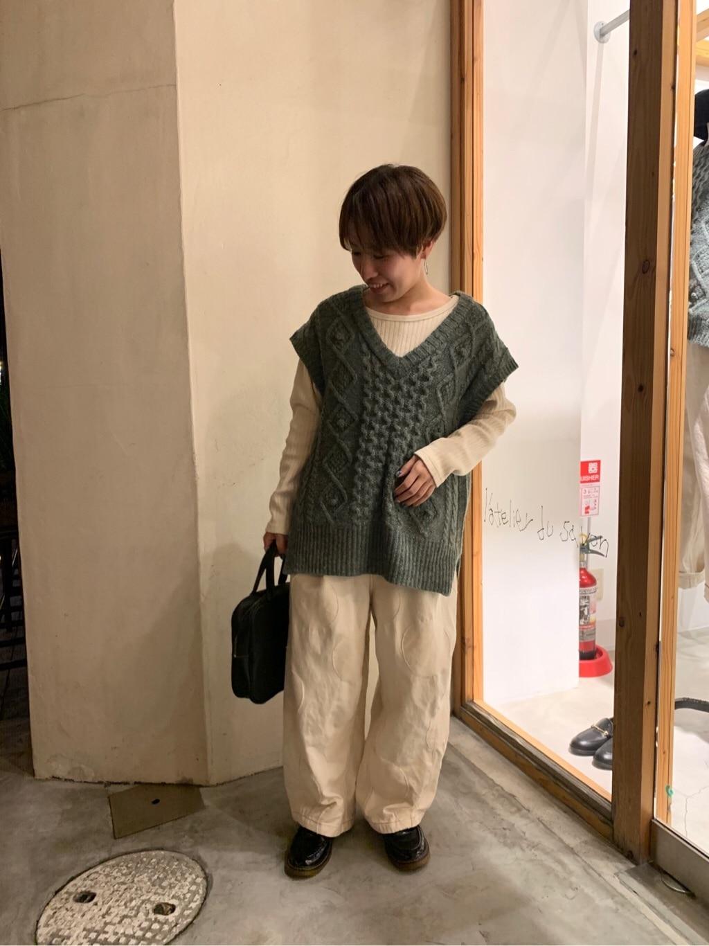 l'atelier du savon 京都路面 身長:148cm 2019.11.27