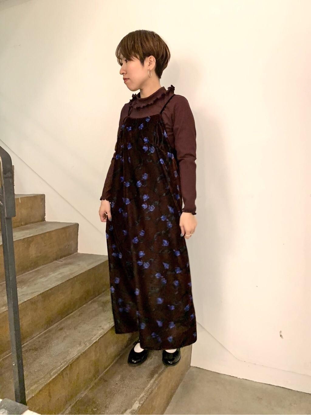 l'atelier du savon 京都路面 身長:148cm 2019.11.15