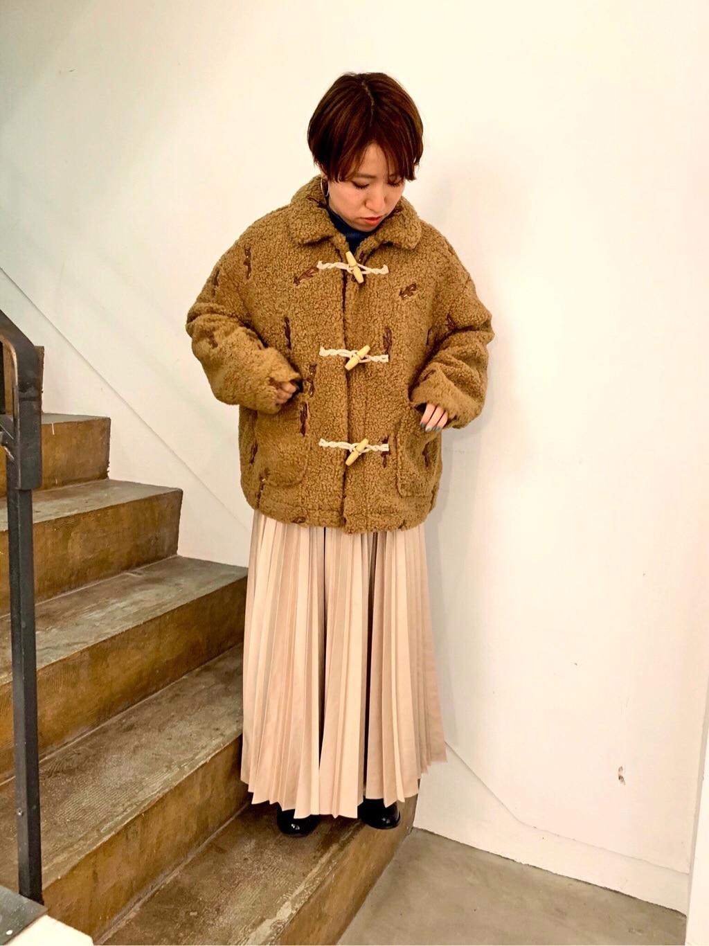 l'atelier du savon 京都路面 身長:148cm 2019.11.16