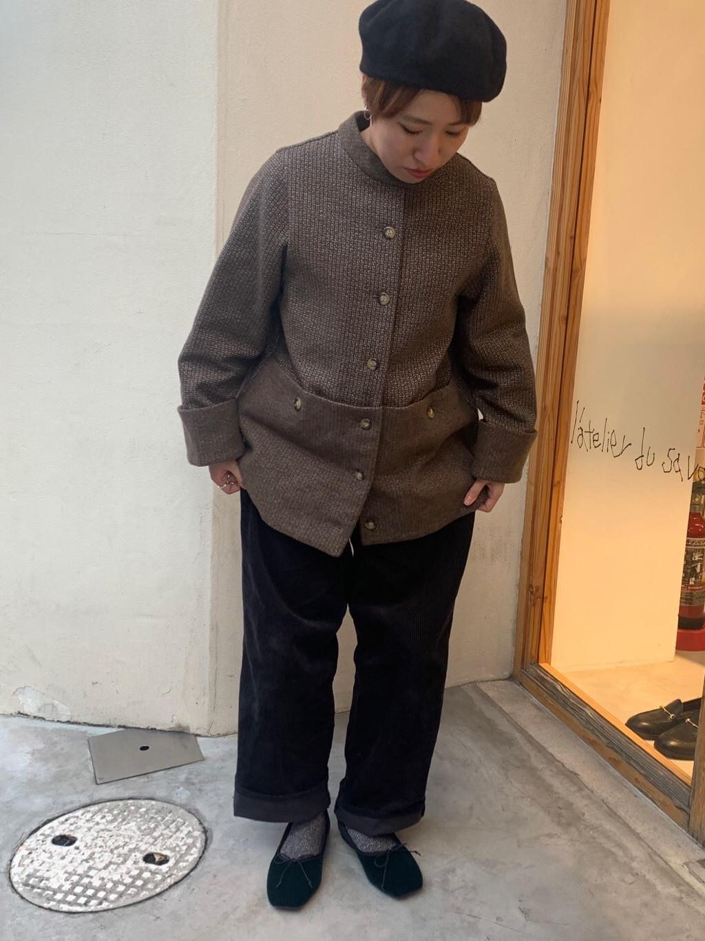 l'atelier du savon 京都路面 身長:148cm 2019.11.01
