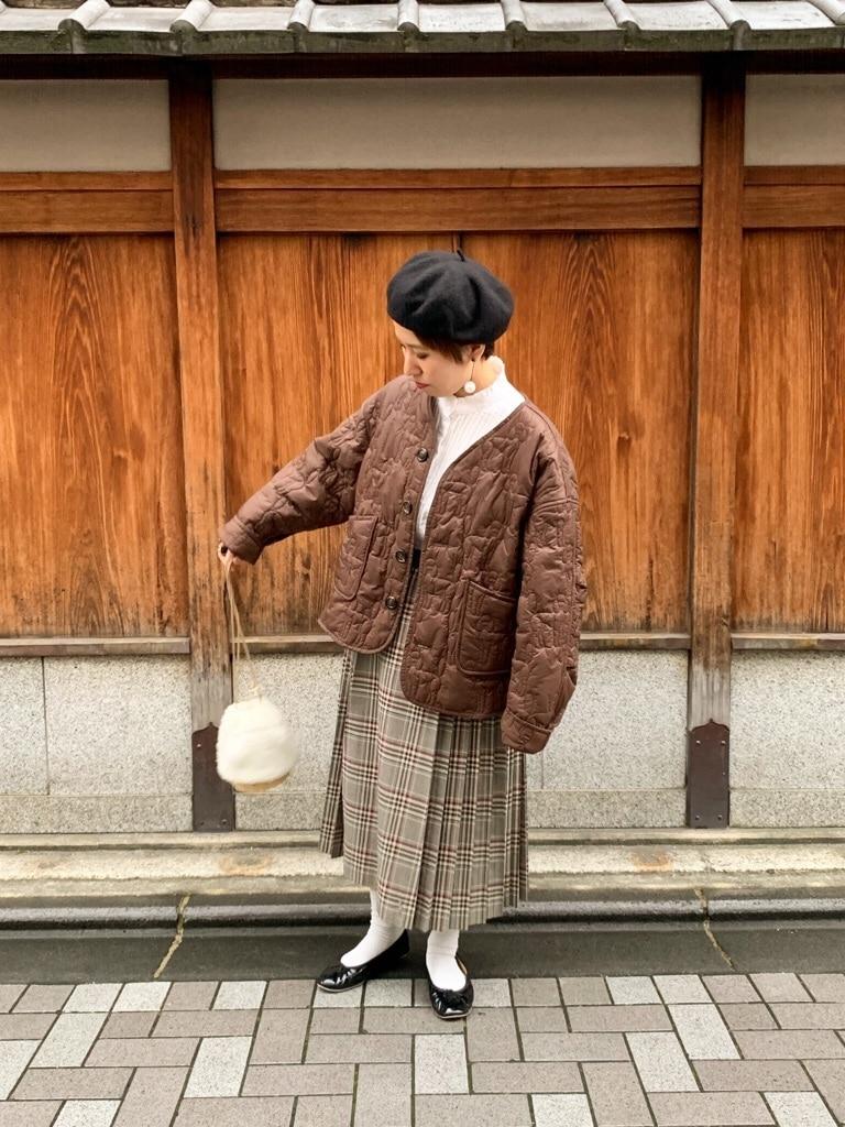 l'atelier du savon 京都路面 身長:148cm 2019.10.15