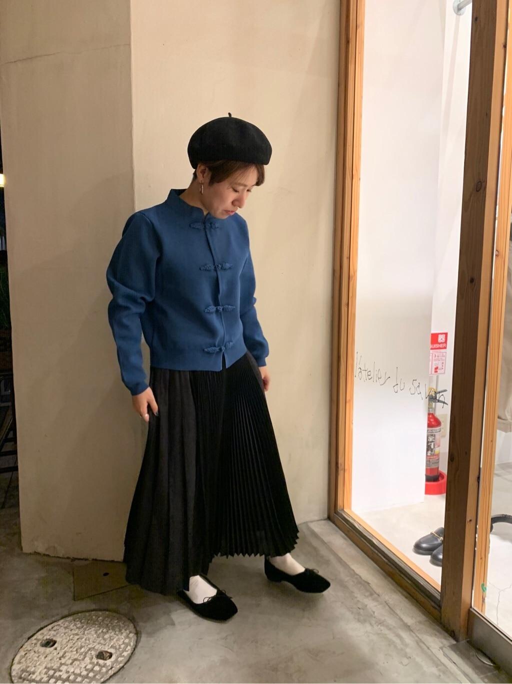 l'atelier du savon 京都路面 身長:148cm 2019.11.26
