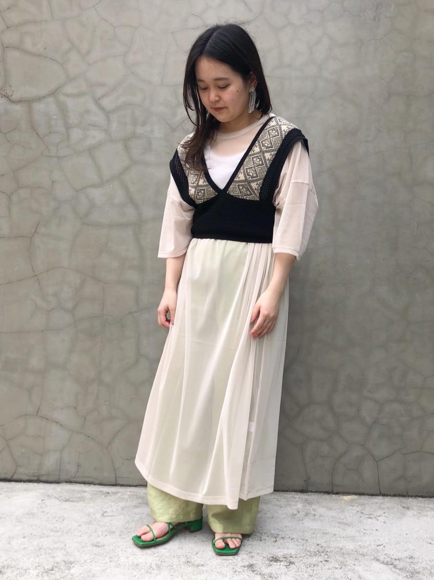 caph troupe 福岡薬院路面 身長:148cm 2020.06.12