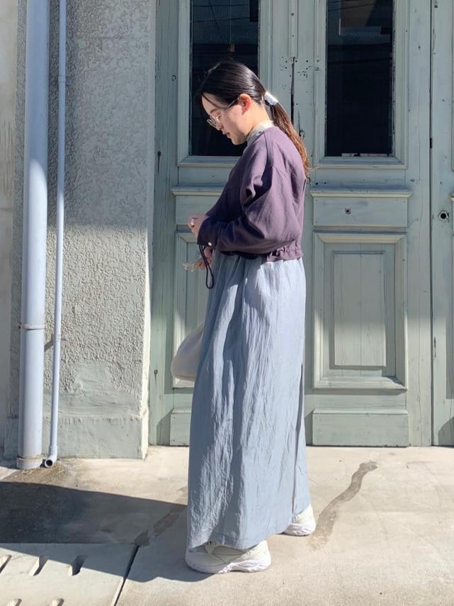 caph troupe 福岡薬院路面 身長:148cm 2021.02.08