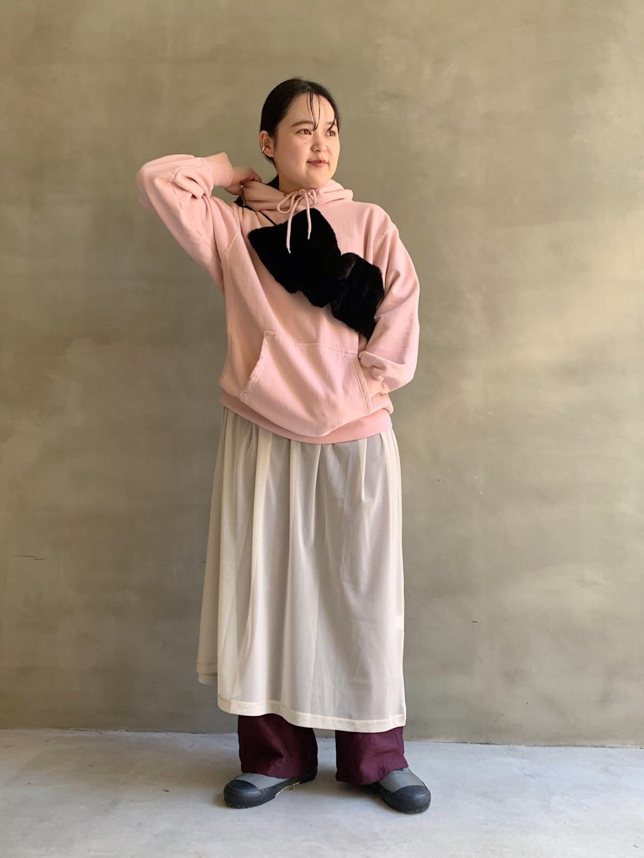 caph troupe 福岡薬院路面 身長:148cm 2020.09.15