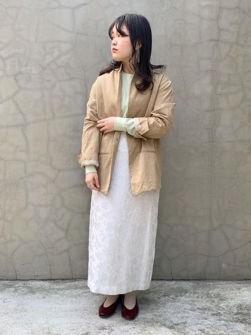 caph troupe 福岡薬院路面 身長:148cm 2020.02.12