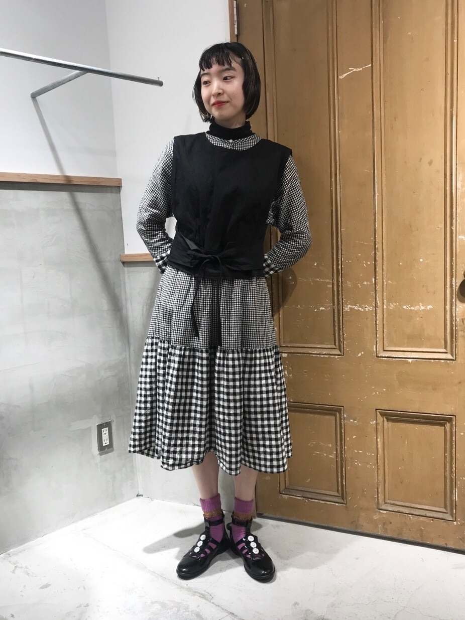 Dot and Stripes CHILD WOMAN ルミネ池袋 身長:163cm 2020.10.20