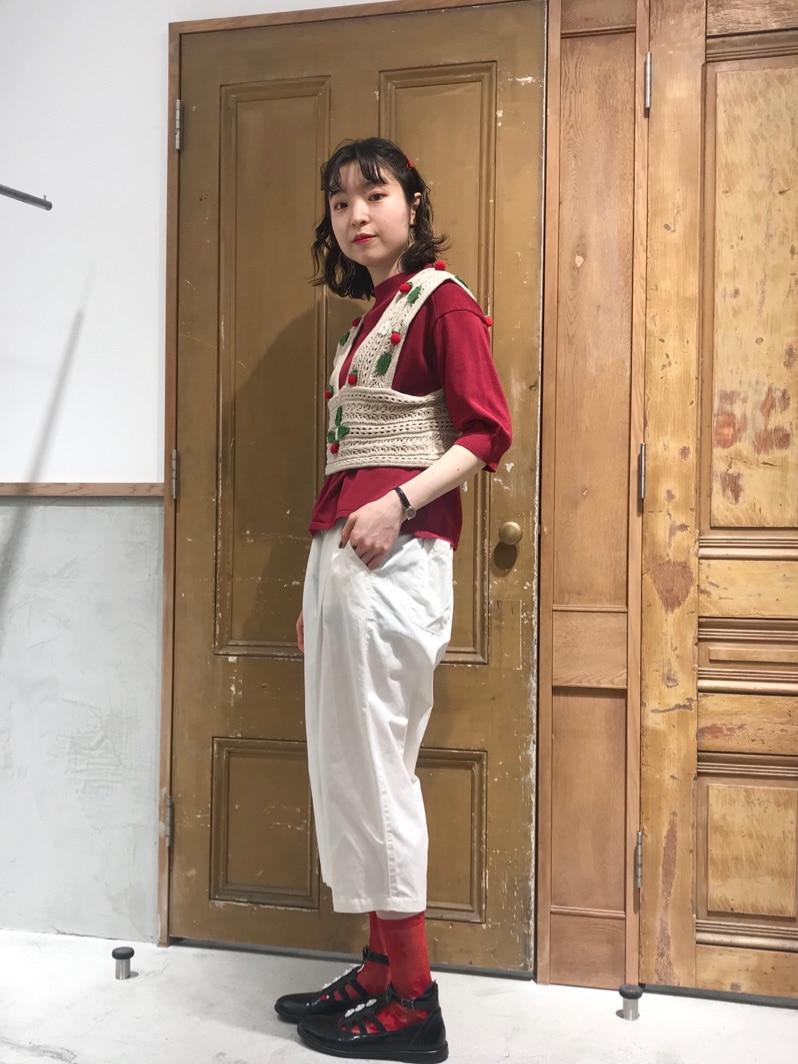 Malle chambre de charme ルミネ新宿 身長:164cm 2021.03.16