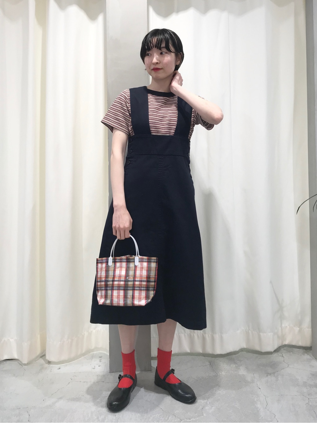 Dot and Stripes CHILD WOMAN ルミネ池袋 身長:163cm 2020.07.30
