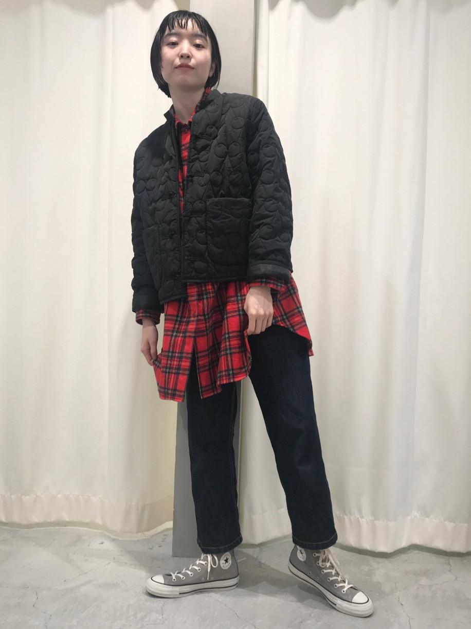 Dot and Stripes CHILD WOMAN ルミネ池袋 身長:163cm 2020.10.01