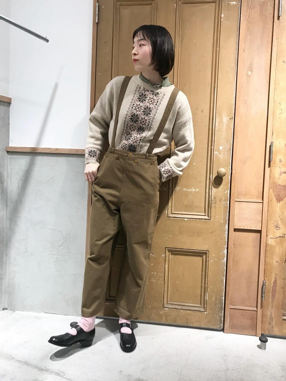 Malle chambre de charme ルミネ新宿 身長:164cm 2020.11.12