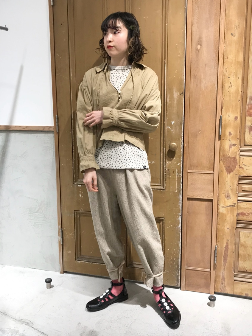 Malle chambre de charme ルミネ新宿 身長:164cm 2021.01.14