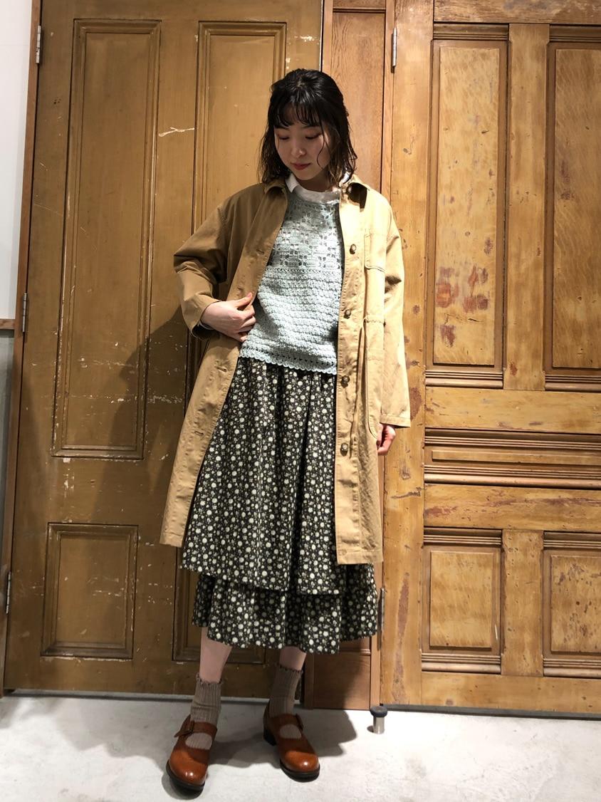 Malle chambre de charme ルミネ新宿 身長:164cm 2021.03.18