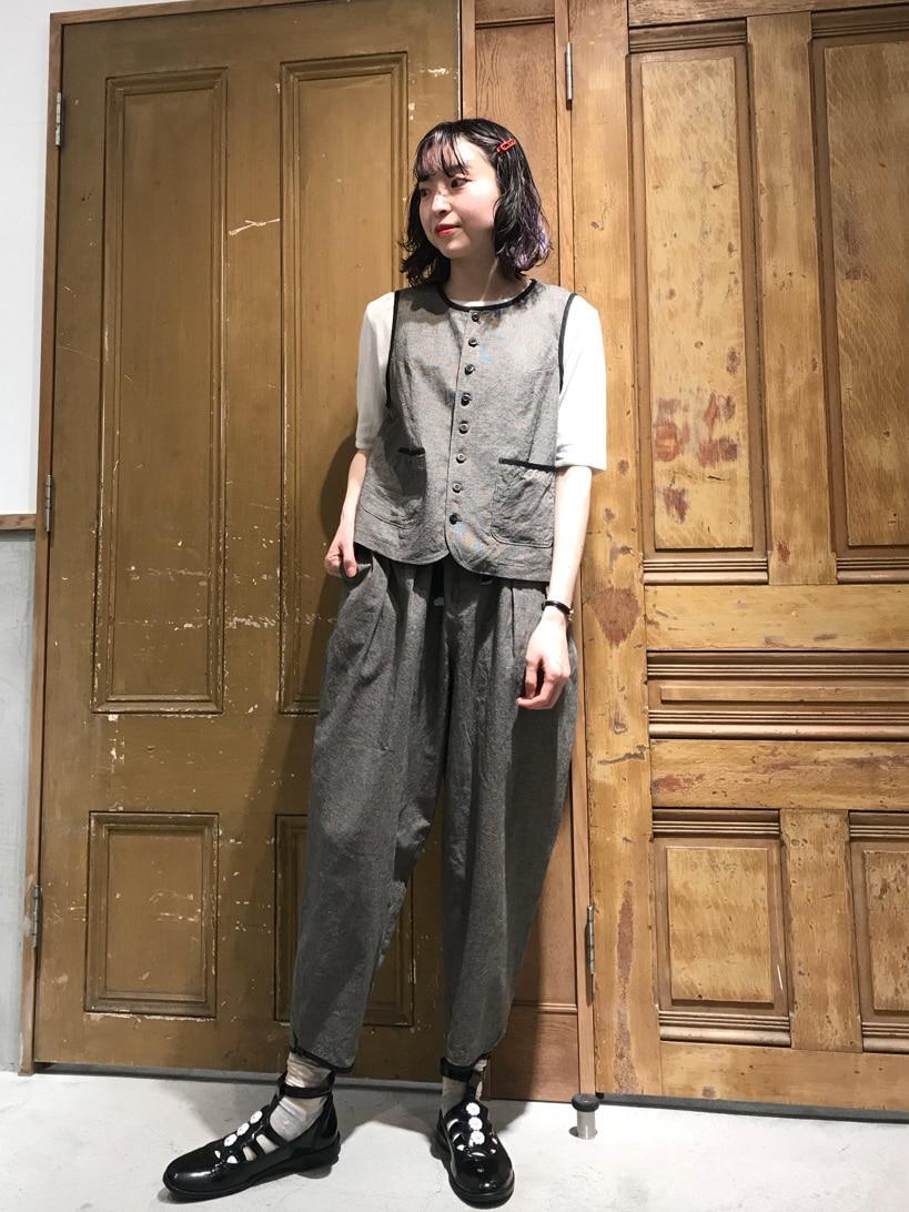 Malle chambre de charme ルミネ新宿 身長:164cm 2021.04.26
