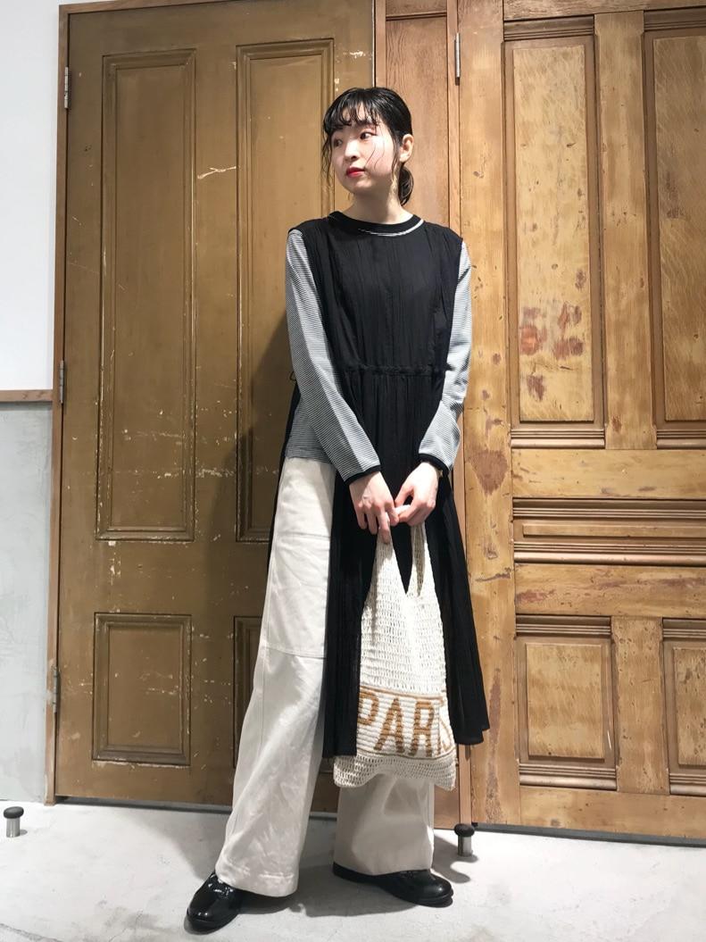 Malle chambre de charme ルミネ新宿 身長:164cm 2021.03.30