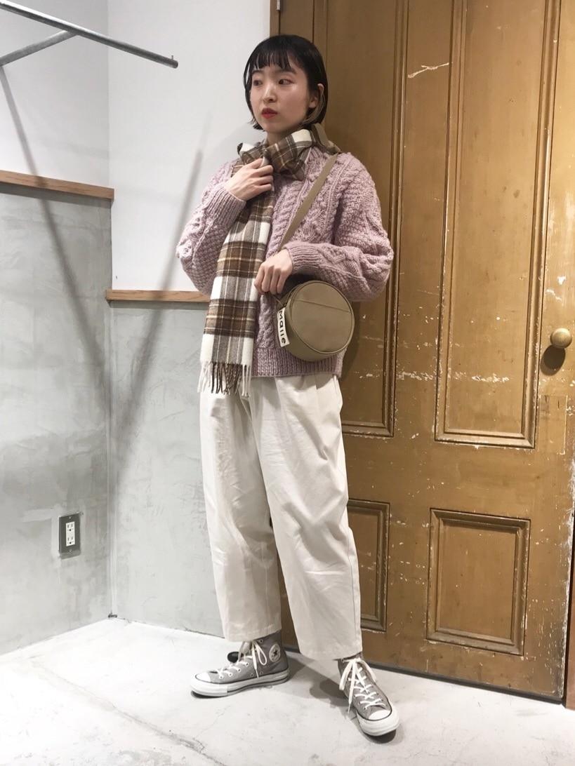 Malle chambre de charme ルミネ新宿 身長:163cm 2020.10.22