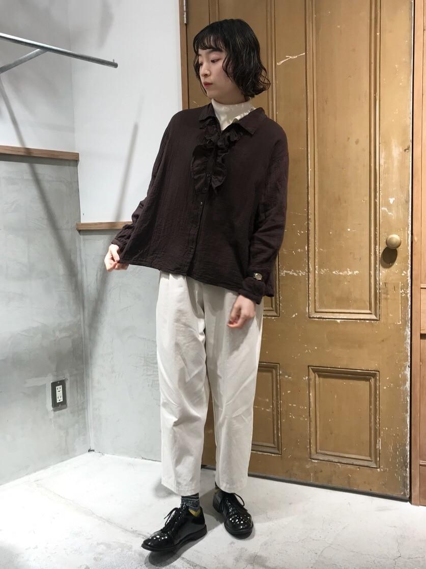 Malle chambre de charme ルミネ新宿 身長:164cm 2020.12.08